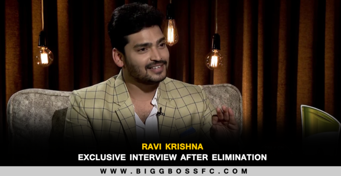 bigg boss ravi krishna interview