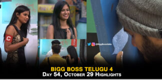 bigg boss telugu 4 highlights